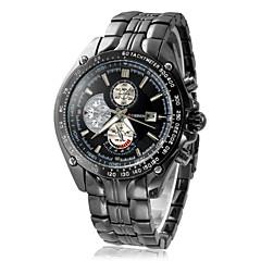 Men's Round Dial Steel Men 10m Waterproof Wristwatch (Assorted Colors) Cool Watch Unique Watch