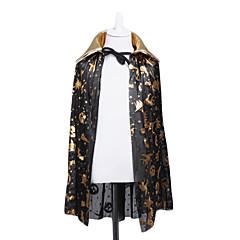 Black $ Manto de ouro para o Dia das Bruxas (Large)