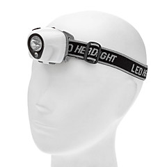 1W 2-Mode LED Mini HeadLamp (30LM, 3*AAA, White)