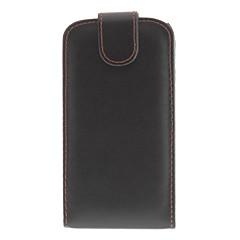 PU Skyddande Flip Fodral till Samsung Galaxy S3 I9300 (Black)