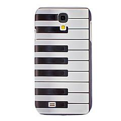 Piano Key Pattern Hard Case för Samsung Galaxy S4 I9500