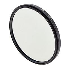 77mm Filtre CPL Lens polarisant circulaire pour Caméras
