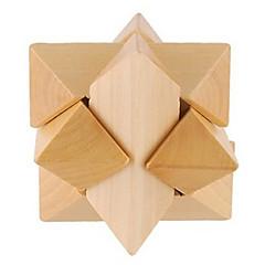 Bois Interlocked étoile jouet éducatif (Bois couleur)