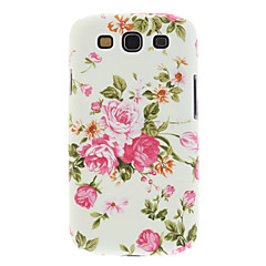High Quality Country Style Schilderen van de Bloem Hard Case Cover voor Samsung Galaxy S3 I9300