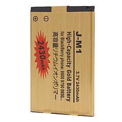 J-M1 2430mAh batteria del telefono cellulare per il telefono Blackberry 9900 9790 9930