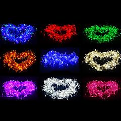 10M 100-LED Multicolor LED Light Kerst Decoratie String Light met 8 Display Modes (220V)