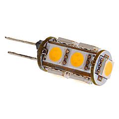 G4는 2w 9x5050smd 81lm 따뜻한 / 차가운 백색 빛이 차를 위해 LED 전구 (직류 12V)