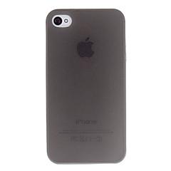 Простой, прозрачный чехол для iPhone 4 / 4 (разные цвета)