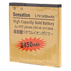 2450mAh batteria del telefono cellulare per HTC G14 Z710e G17 EV0 3D G18 G21 X315e