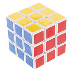 Cubes Magiques IQ Cube Shengshou Trois couches Vitesse Cube de vitesse lisse Magic Cube Puzzle Blanc Plastique