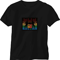 교체 사운드 및 음악 활성화 스펙트럼 VU 미터 EL 시각화 (비는 T-shrit의 포함)