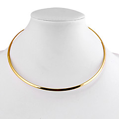 Necklace Choker Necklaces Jewelry Daily / Casual Fashion Alloy Gold / Silver 1pc Gift