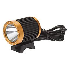 LetterFire LF-19 3-Mode Cree XM-L T6 LED bicicleta Lanterna / Farol (1000LM, 4x18650, Black + Gold)