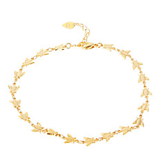 Bees Golden-Plated Anklet