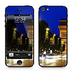 "Da-Code ™ Skin für iPhone 5/5S: ""Champs Elysee at Night"" (City Series)"