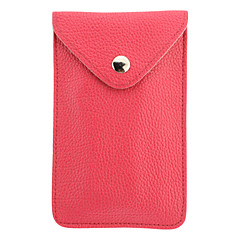 Stylish Tabby Pattern PU Pouches with Strap for iPhone 4/4S/5/5S (Assorted Colors)