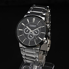 Men's Watch Dress Watch Water Resistant Fashion Steel Band