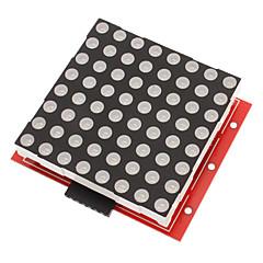Module Driver 8x8 Dot-Matrix et Kit de conseil d'affichage LED rouge