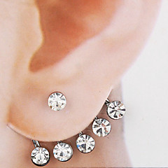 Earring Stud Earrings Jewelry Women Party / Daily Alloy 1pc Silver