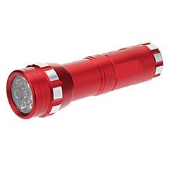 14xLED Mini Torcia (3xAAA, Red)