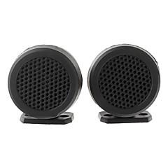 TiaoPing TP-006A Mini Dome Tweeter Bauteile Lautsprecher für Car-Audio-System - Schwarz (Paar)