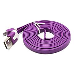 2m nudel utseende design micro usb kabel till Samsung Galaxy Note 4 / S4 / s3 / s2 och lg / htc / Sony / ZTE