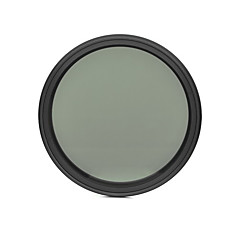 fotga® 62mm fader mince nd filtre réglable nd2 de densité neutre variable ND400