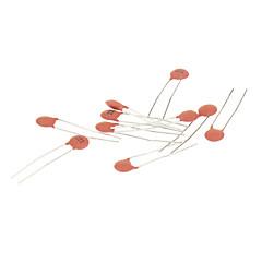 Keramisk kondensator för DIY elektronisk krets - Röd (270-Piece Pack)