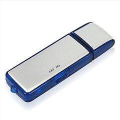 Alta sensibilidad Grabadora digital de voz 8G