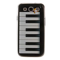 Piano Sonho padrão plástico protetor rígido de volta caso capa para Samsung Galaxy S3 I9300