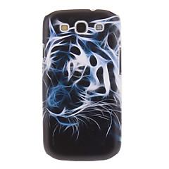Phantom Tiger Maalaus kuvio muovi kova takaisin tapauksessa kattaa Samsung Galaxy S3 I9300