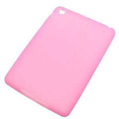 caixa do silicone macio rosa para mini-ipad 3, mini iPad 2, iPad mini