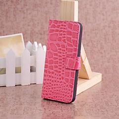 Jacaré Luxo, Wallet Case Carteira de Couro para iPhone 5/5S (cores sortidas)