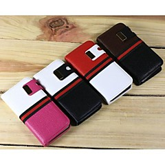 Specail Design 2 In 1 litchi PU Leather Case with Stand for iPhone4/4S