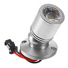 1W 110LM 6000-6500K Cool White Light LED Mirror Wine Cabinet Light -Silver (AC 90-240V)
