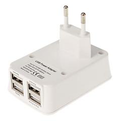 EU 4*USB 2.0 Charging Adapter