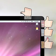 творческий симпатичная форма большого пальца самоклеющейся примечание