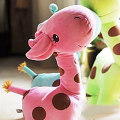 χαριτωμένα κινούμενα σχέδια ροζ καμηλοπάρδαλη καινοτομία μαξιλάρι