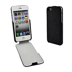 Angibabe PU et le cas de chiquenaude de cuir de stand pour l'iPhone 5 / 5S