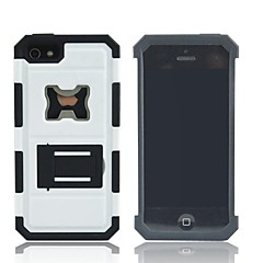 Dismountable Multilayer Protective Case with Stand for iPhone4/4S