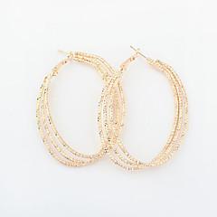 Κρεμαστά Σκουλαρίκια Κρίκοι Κράμα Πεπαλαιωμένο Victorian Χρυσό Ασημί Κοσμήματα 2pcs