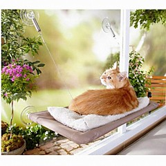 Quente Tiras Padrão Cama Redonda para Animais Gatos