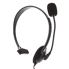 Single Headset with Mic for PS4(Black)