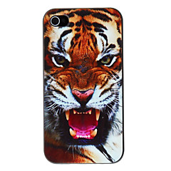 Vivid Tiger Pattern PC Hard Case for iPhone 4/4S