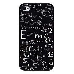 Mass-energy Equation Pattern Aluminous Hard Case for iPhone 4/4S