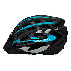 MOON Cycling Blue PC/EPS 31 Vents One Cycling Helmet