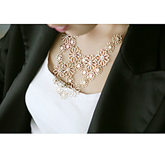Necklace Statement Necklaces Jewelry Halloween / Party / Daily Fashion Alloy White 1pc Gift