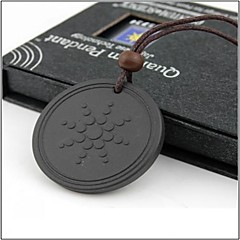 Lava Rock Quantum Pendant Scalar Energy Necklace Jewelry