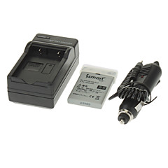 ismartdigi 1050mAh Batterie d'appareil photo + chargeur de voiture pour NIKON E5900 E4200E7900 P520 P51