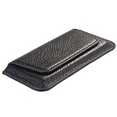 Flip Genuine Leather Case Cover Pouch for iPhone 4S/5S/5C